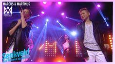 Marcus og Martinus Girls feat.Madcon live på Senkveld