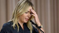 Five-time Grand Slam winner Maria Sharapova reveals she failed a drugs test at the Australian Open in January.