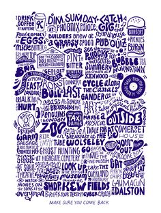 A-Z of London - Kate Moross