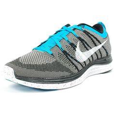 new styles 8580b 42518 NIKE FLYKNIT 1 BLACK GREY BLUE WHITE 554887 010