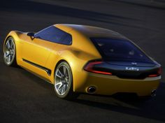 Kia GT4 Stinger concept revealed in leaked official images | Car Fanatics Blog