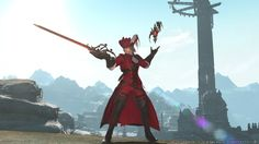 Expansion Launches In June, Adds Red Mage Class - Final Fantasy XIV: Stormblood - PlayStation 4