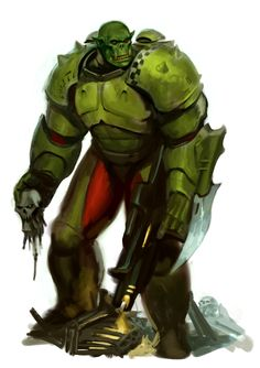 Warhammer 40k Memes, Warhammer Art, Warhammer Fantasy, Warhammer 40000, Alien Concept Art, Armor Concept, Orks 40k, 40k Armies, Character Art
