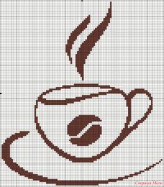 И снова чашка кофе. Вышивка, часть 2.. Обсуждение на LiveInternet - Российский Сервис Онлайн-Дневников