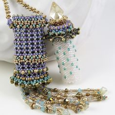 MadDesigns. Those purple seed beads are a personal favorite