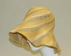 1920s, America or Europe - Straw hat