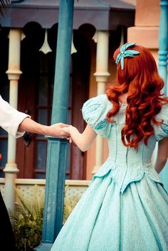 Ariel the little mermaid Disney Dream, Disney Love, Disney Magic, Walt Disney, Disney Parks, Disneyland Face Characters, Disney World Characters, Disney Films, Little Mermaid Costumes