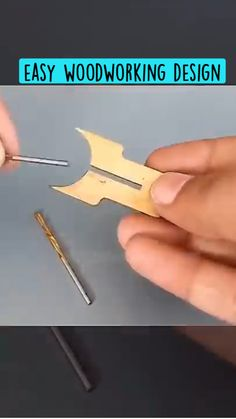 Diy Wooden Projects, Woodworking Projects Diy, Woodworking Jigs, Wooden Diy, Wood Crafts, Homemade Tools, Wood Tools, Carving Tools, Cool Inventions