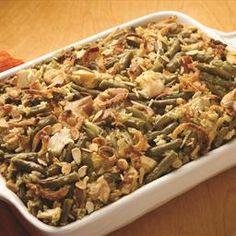Main Dish Chicken, Rice and Green Bean Casserole on BigOven:
