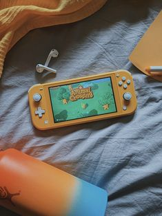 I love my yellow switch lite and can't stop playing animal crossing new horizons