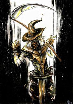 Scarecrow by Noemi Varnai Scarecrow Batman, Scarecrow Mask, Scary Scarecrow, Gotham Villains, Gotham Batman, Dr Jonathan Crane, John Crane, Alex Ross, Batman Arkham Asylum