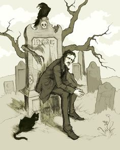 Anything written by Edgar Allen Poe is worth reading!