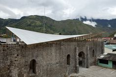Gallery of Roof over the Walls of the Old Baños Church / BROWNMENESES - 6