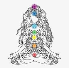 Meditation Art, Chakra Meditation, Yoga Art, Chakra Tattoo, Chakra Art, Sacral Chakra, Spiritual Drawings, Chakra Painting, Symbol Drawing
