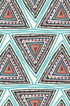 Prints + Patterns. #Print #Pattern #Triangle