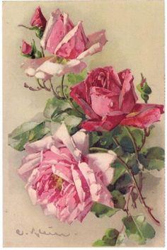 carte per decoupage free vintage rose fiori frutta - manifantasia