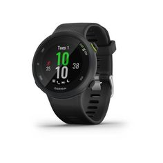 Garmin Forerunner 45 negro smartwatch de running con GPS y monitor de FC Apps For Running, Running Watch, Display Design, Smartphone, Connect Online, Indoor Track, Fitness Watch, Heart Rate Monitor, Sport Watches