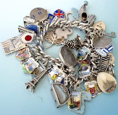 Charms from every destination. Travel souvenirs.