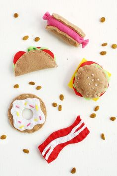 Adorable! Junk Food Cat Toy DIY