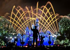 Disneyland Christmas - Believe… In Holiday Magic Fireworks by Tom.Bricker on Flickr