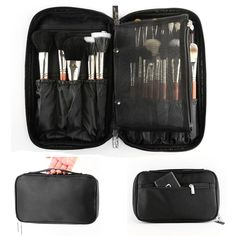 8403f6336c088 Buy Cosmetic Tool Makeup Brush Cosmetic Storage Case Organizer Handbag  Holder Make Up Bag at Cute - Beauty Shopping