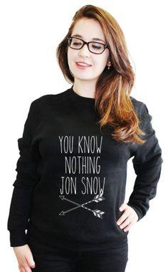 Game of Thrones Jon Snow fashion cosy sweater