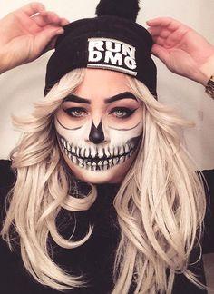 20 Cool Halloween Makeup Ideas | Skeleton / Skull