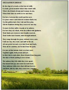 The Rainbow Bridge short story help?