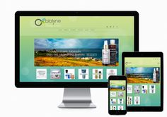 Création du site internet Obiolyne - Vente de cosmétique à #Brest http://www.air-media29.com/obiolyne-cosmetiques-bios.html