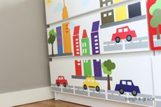 Ikea Hack Update Malm Dresser with Decals   Mingo & Grace