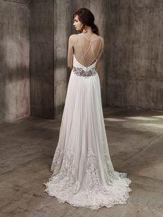 Belle Badgley MIshcka Bridal ALANA