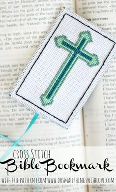 Cross Stitch Bible Bookmarks
