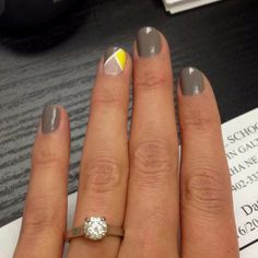 Wedding Nails :)..perfect matching colors!!!!
