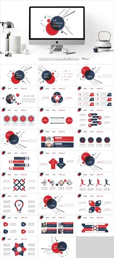 Red Professional PowerPoint template – The highest quality PowerPoint Templates and Keynote Template Cool Powerpoint, Simple Powerpoint Templates, Professional Powerpoint Templates, Background Powerpoint, Powerpoint Themes, Keynote Template, Infographic Powerpoint, Powerpoint Animation, Infographics