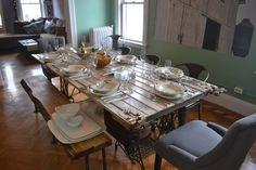 Door Dining Table On Pinterest