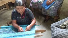 Mayan women continue the ancient tradition of weaving on the backstrap loom, handed down by their foremothers more than three thousand years ago.