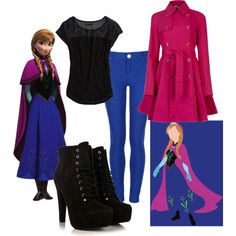 """Frozen Anna"" by lilfeliciarose on Polyvore"