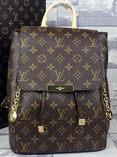 Louis Vuitton Monogram Canvas Backpack M45804, 2015 New Louis Vuitton…
