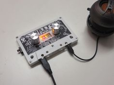 "Long before the days of Spotify radio, or even CDs, primitive people would put together ""mix tapes"" consisting of audio copied from other tapes or the radio. This allowed them to play several… Electronics Projects, Electronics Gadgets, Electronic Gifts For Men, Electronic Shop, Musik Player, Hub Usb, Ipad, Mixtape, Style"