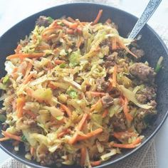 Weight Watchers Egg Roll in a Bowl – Recipe Diaries