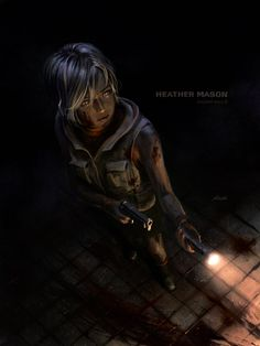 Heather Mason - Silent Hill 3 by yoshiyaki on DeviantArt Silent Hill Pt, Silent Hill Series, Post Apocalyptic Girl, Heather Mason, The Cat Returns, Toluca Lake, Amazing Drawings, Best Series, Resident Evil