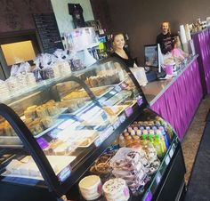 Kneaded Bake Shop is Regina's first completely gluten-free facility. They also offer numerous dairy-free baked goods and coffee drinks.