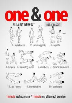 1&1 Workout neilarey.com | #fitness #bodyweight