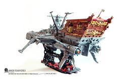 Bateau Lego, Bateau Pirate, Lego Plane, Lego Boat, Space Pirate Captain Harlock, Lego Universe, Lego Creator Sets, Lego Ship, Lego Spaceship