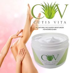Amazon.com : Best Facial Moisturizer - All Natural Aloe Vera Face Cream - With Anti-aging Antioxidants. Amazing Results On: Wrinkles, Eczema, Psoriasis, Dermatitis, Burns and Sunburns. Handles: Severely Dry Skin, Cracked Heels, Hands and Chapped Skin. For All Skin Types, Great for Sensitive Skin. Soaks Right In, Fresh Citrus Scent, No Harsh Chemicals! Leaves Your Skin Looking Younger, Soft and Hydrated. : Beauty