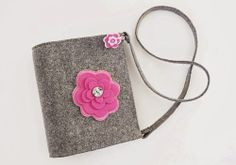 If You like flowers... - felt bag