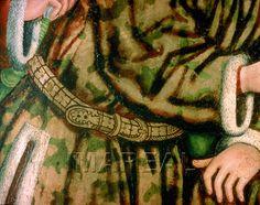 Anbetung der Könige (detail)  1450-1460; Wien; Österreich; Österreichische Galerie http://tarvos.imareal.oeaw.ac.at/server/images/7001156.JPG