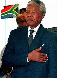 "May 10, 1994:  Nelson Mandela inaugurated. He was the first black president of South Africa. In his inaugural address, Mandela, who spent 27 years of his life as a political prisoner of the South African government, declared that ""the time for the healing of the wounds has come."" An overwhelming majority chose Mandela and his African National Congress (ANC) party to lead the country."
