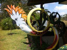LA CACATUA! visit our page at  https://www.facebook.com/reciclamosyembellecemos