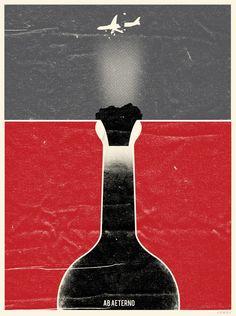 Lost minimalist tv show poster serie